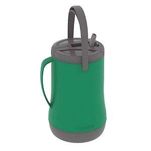 Garrafa Grantermo 2,5 Litros Térmica Água Tereré Chimarrão - Soprano - Verde