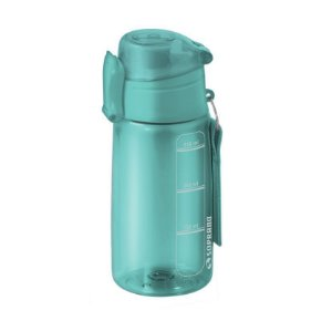 Garrafa Squeeze 550 ml com infusor Fitness Chá Água - Soprano - Água