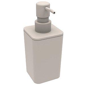 Porta Sabonete Líquido Saboneteira Dispenser De Pia Banheiro - Soprano - Gelo