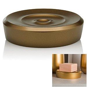 Saboneteira Porta Sabonete Em Barra Acessório Banheiro Belly Vintage - SBB 824 Ou - Dourado