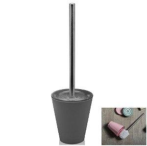Suporte Com Escova Sanitária Vitra Vaso Privada Banheiro - SS 425 Ou - Chumbo