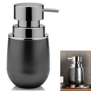 Suporte Porta Sabonete Liquido Dispenser Banheiro Pia Belly Vintage - PSB 825 Ou - Grafite