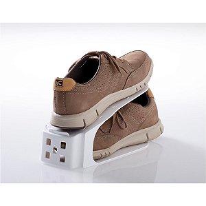 Organizador De Sapatos Tênis Saltos Rack Armário - Paramount - Branco