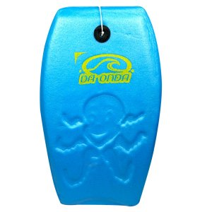 Prancha de Bodyboard 60cm Pequeno Mar Surf Amador Infantil Brinquedo Para Praia - 117 Da Onda - Azul