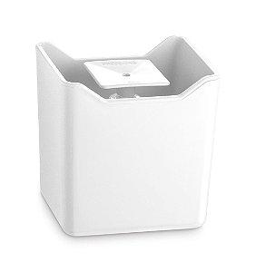 Dispenser De Pia Porta Detergente Líquido Esponja Cozinha Premium - UZ357 Uz - Branco