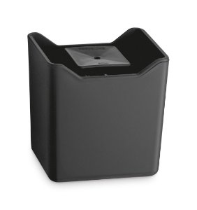 Dispenser De Pia Porta Detergente Líquido Esponja Cozinha Premium - UZ357 Uz - Preto