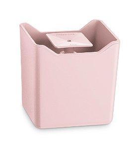 Dispenser De Pia Porta Detergente Líquido Esponja Cozinha Premium - UZ357 Uz - Rosa