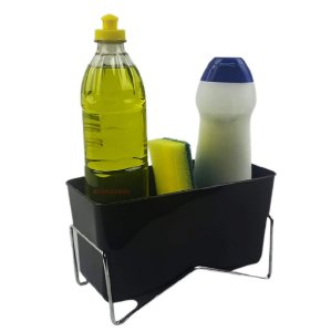Aramado Organizador Pia Porta Detergente Líquido Esponja Cozinha Bancada - 579 Stolf
