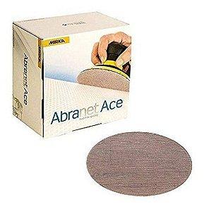"""Caixa De Lixa Abranet Ace 6"""" 150mm P320 C/ 50un - Mirka"""