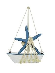Barco Estrela Do Mar Decor