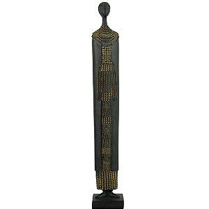 Escultura Decorativa Africana