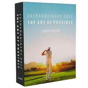 Caixa Livro Decorativa Book Box Extraordinary Golf