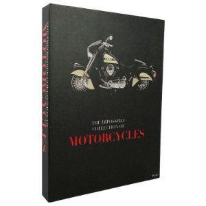 Caixa Livro Decorativa Book Box The Collection of Motorcycles