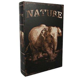 Book Box Nature Elefante