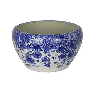 Vaso Cachepot De Cerâmica Estilo Português