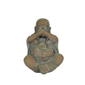 Escultura Decorativa Buda De Resina