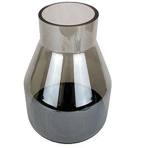 Vaso De Vidro Com o Fundo Fosco Preto