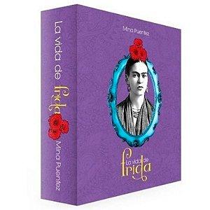 Livro Caixa Decorativo Book Box Frida Kahlo La Vida De Frida