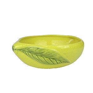 Saladeira De limão Amarela De Cerâmica