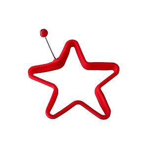 Forma para Ovo Silicone Estrela