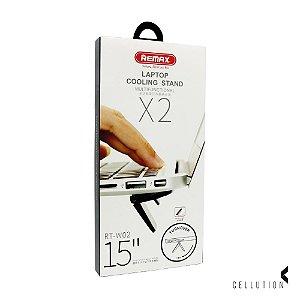 Suporte para Notebooks X2 Remax - Preto