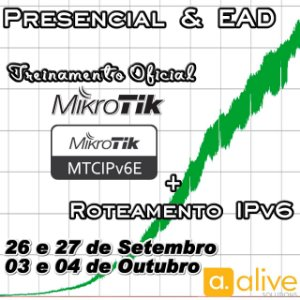 * MTCIPv6E + Roteamento IPv6 - PRESENCIAL & EAD