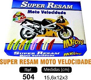 BRINQUEDO JOGO SUPER RESAM MOTO VELOCIDADE