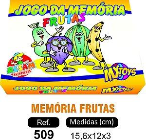 BRINQUEDO JOGO DA MEMÓRIA FRUTAS