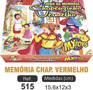 BRINQUEDO JOGO MEMÓRIA CHAPEUZINHO VERMELHO