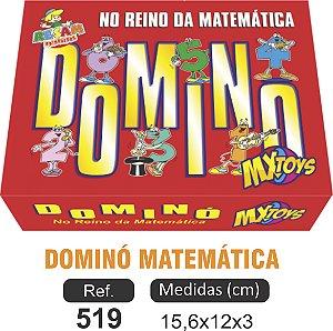 BRINQUEDO JOGO DOMINÓ MATEMÁTICA