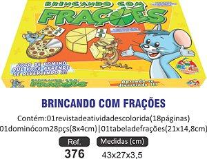 BRINCANDO COM AS FRAÇÕES