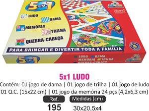 BRINQUEDO 5X1 LUDO