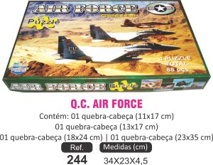BRINQUEDO QC AIR FORCE 4X1