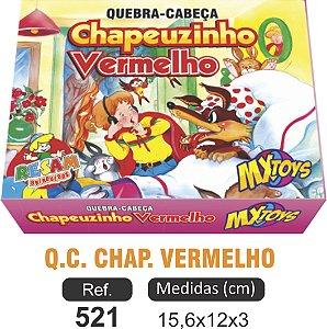 BRINQUEDO QC CHAPEUZINHO VERMELHO