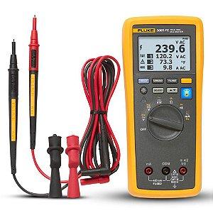 Fluke 3000FC – Multímetro Digital Industrial True-RMS sem fio com o aplicativo Fluke Connect®
