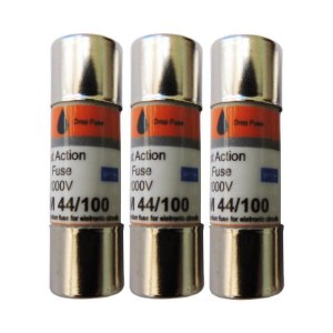 Fusível DMM 44/100 (COM 3 UNIDADES) – Fusível de ação rápida para Multímetros Industriais – 440mA / 1000V