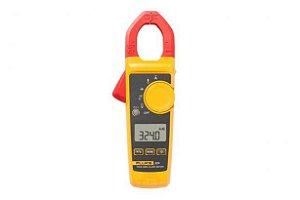 Fluke 324 – Alicate Amperímetro True-RMS 400A AC e medição de temperatura e capacitância.