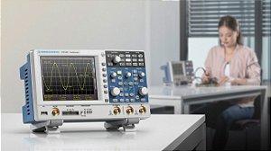 Rohde & Schwarz RTC1002-100 – Osciloscópio Digital de 100MHZ, 2 canais, com ampla gama de funções