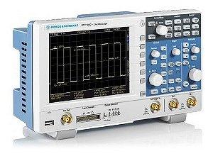 Rohde & Schwarz RTC1002-200 – Osciloscópio Digital de 200MHZ, 2 canais, com ampla gama de funções