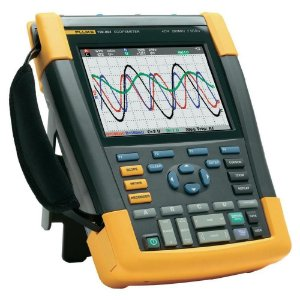 Fluke 190-104 – ScopeMeter®Portátil 100MHz, 4 Canais Isolados, bateria