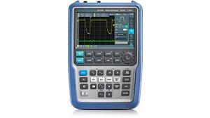 Rohde & Schwarz RTH1024 – Osciloscópio Portátil de 200MHz, 4 Canais Isolados, bateria