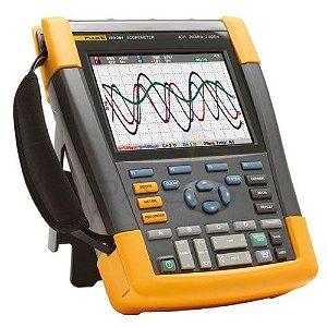 Fluke 190-204 – ScopeMeter®Portátil 200MHz, 4 Canais Isolados, bateria