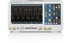 Rohde & Schwarz RTB2002 – Osciloscópio de 70 MHz, 2 canais, Tela de 10,1″ touchscreen, Resolução de 10 bits, Amostragem de 2,5 GS/s