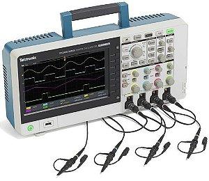 Tektronix TBS2104B - Osciloscópio 100MHz, 4 canais, 5M de memória e 5 anos de garantia