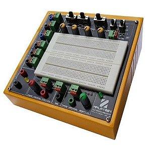 Módulo Didático de Eletrônica Analógica Básica com Gerador de Funções – MPLA1201GF