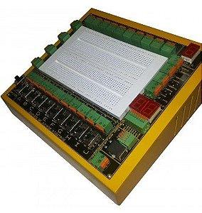 Módulo Didático de Eletrônica Digital com CHAVE DE SELEÇÃO TTL/CMOS – MPLD10B