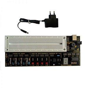 Placa Didática para Estudo de Eletrônica Digital – MPLD04
