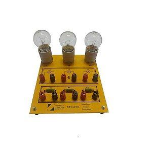 Módulo Didático de Cargas Resistivas – MPL-CR03