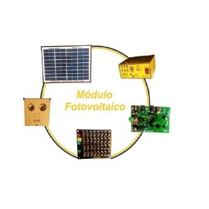 Módulo Didático Básico para Estudo de Energia Solar Fotovoltaica – MPLER-FT