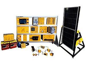 Sistema Didático Avançado para Estudo de Energia Solar Fotovoltaica